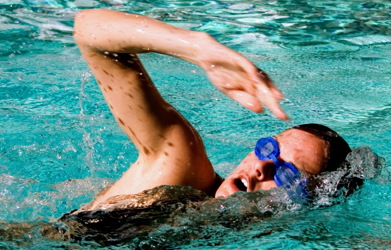 female swimmer